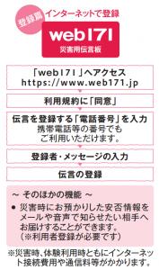 Web171登録編